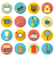 Utensils icons set 16 vector