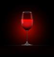 Wine glass 4 vector