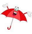 Umbrella cartoon vector