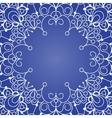 Background with lace ornament vector