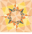 Seamless set geometric pattern with stars vector