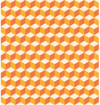 Orange cubes seamless texture vector