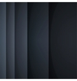 Abstract background with black paper layers vector