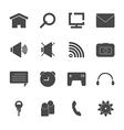 Mobile icon set eps10 vector