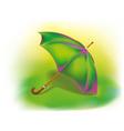 Colorful umbrella vector