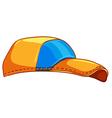 A baseball cap vector