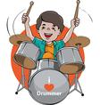 Drummer vector