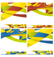 Abstract backround of different colors vector