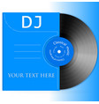 Design vinyl record vector
