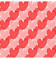 Design seamless doodle heart pattern vector