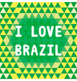 I love brazil2 vector