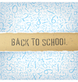 Educational abstract background vector