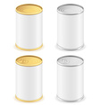 Metal tin can 02 vector
