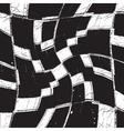 Texture grunge curves checker vector