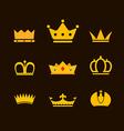 Crowns vector