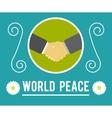 World peace concept vector
