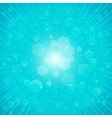 Blue summer background vector