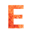 E land letter vector