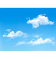 Background with blue sky and clouds backgrounds vector