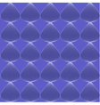Blue seamless line pattern vector