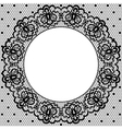 Lace and napkin vector