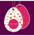 Abstract colorful stripes and shapes easter vector