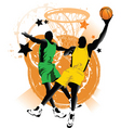 Basketball club vector