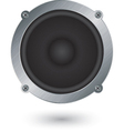 Audio speaker app icon vector