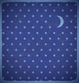 Square card with polka dot stars vector