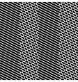 Diagonal bricks and stripes black white seamless vector