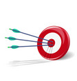 Arrows and target vector