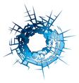 Bullet hole vector