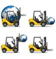 Shipment icons set 19 vector