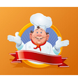 Smiling chef vector
