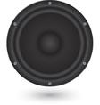 Audio speaker app icon vector