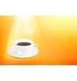 Cup of espresso vector