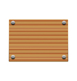Wooden board copy vector