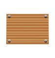 Wooden board copy vector