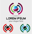 Abstract logo elements vector