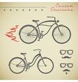 Custom bicycle vector