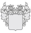 Aristocratic emblem no23 vector
