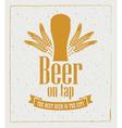 Beer on tap 007 vector