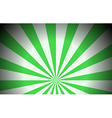 Green colored rays vector