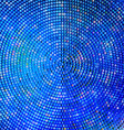 Abstract background blue abstract banner halftone vector