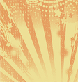 Abstract background orange vector