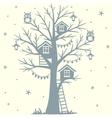 Treehouse vector