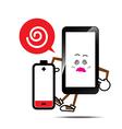 Mobile phone smart phone vector