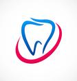 Teeth medical abstract logo vector