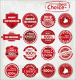 Best choice labels vector