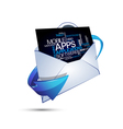 Abstract message applications vector